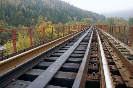 Spoorweg Stockfoto