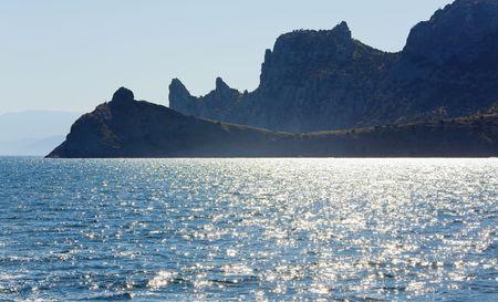promontory: coastline of