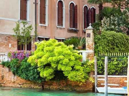 italian sea: Nice summer venetian canal view, Venice, Italy