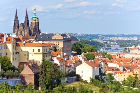 Stare Mesto (Old Town) view, Prague, Czech Republic Stock Photo