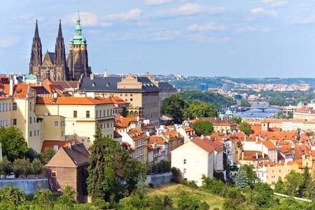 Stare Mesto (Oude Stad) uitzicht, Praag, Tsjechië
