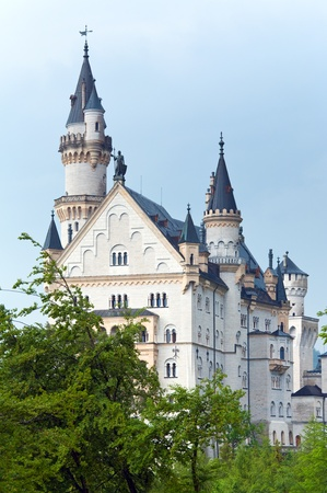 Historic medieval Neuschwanstein Castle in Bavaria (Germany) photo