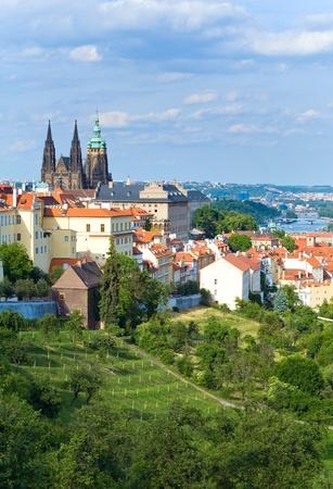 stare mesto: Stare Mesto (Old Town) view, Prague, Czech Republic Stock Photo