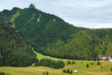 giewont: Tatra Mountain, Poland, view to Giewont mount Stock Photo