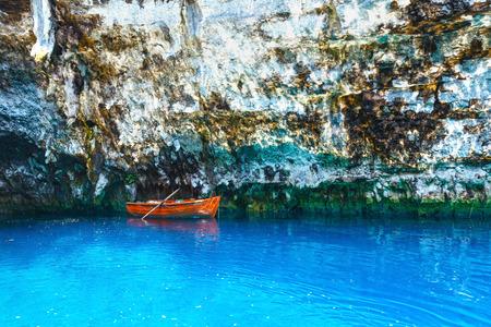 Melissani Cave or Melissani Lake (Kefalonia, Greece) photo