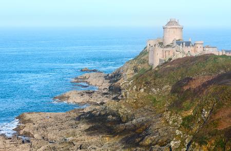 Fort-la-Latte or Castle of La Latte (Brittany, France). Built in the 13th century