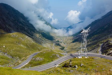 transfagarasan: Summer mountain view from Transfagarasan road (Romania)