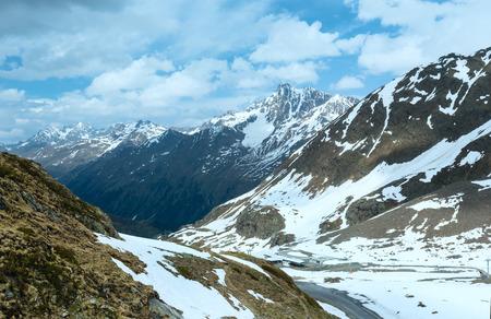 station ski: Ski station in summer Alps mountain (Austria).
