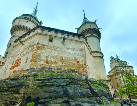 12th century: Bojnice Castle (Slovakia). Summer, 2014. Built in the 12th century, rebuilt in 1889-1910 Editorial