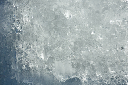 glacial: Glacial block of ice with interesting structure (close up). Winter background.