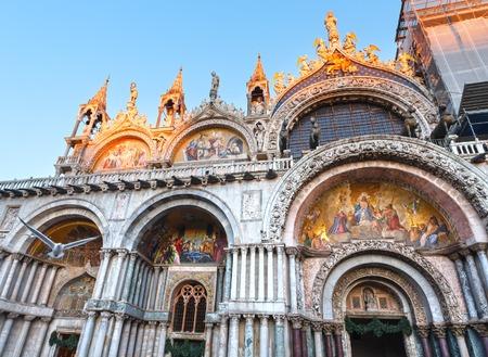 patriarchal: The Patriarchal Cathedral Basilica of Saint Mark.  Venice, Italy. Building in 828, Architect  Domenico I Contarini.