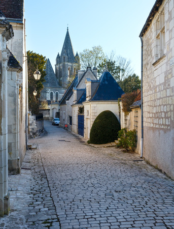 Collegiate Church Saint-Ours Loches of Loches (France). Founded between 963 and 985.