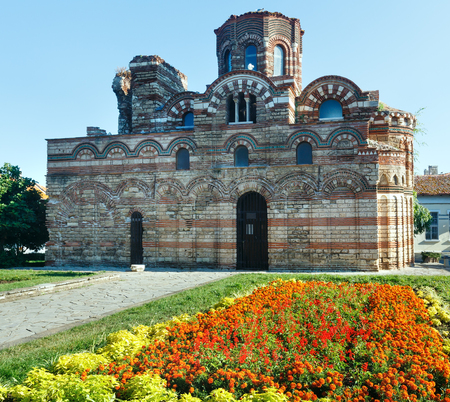 pantocrator: Church of Christ Pantocrator, Nessebar, Bulgaria. Constructed in the 13th�14th century