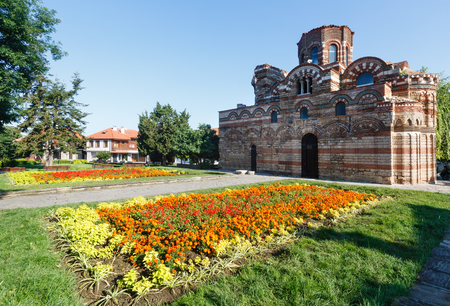 pantocrator: Church of Christ Pantocrator, Nessebar, Bulgaria. Constructed in the 13th-14th century