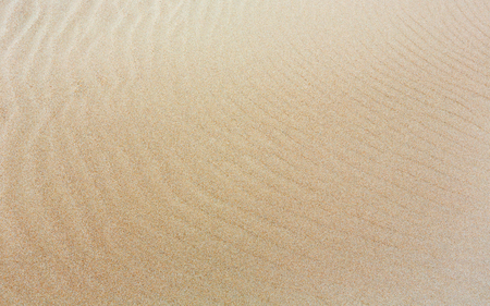 barely: White sand background with barely visible waves after surf on beach.