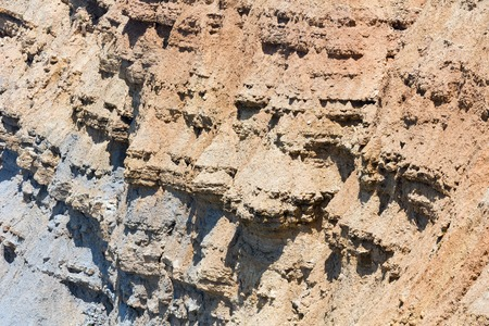 stratified: Part of rock. Nature background.