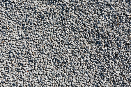 Gray gravel as abstract background.