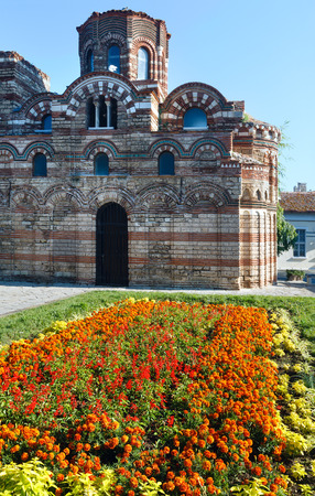 Church of Christ Pantocrator, Nessebar, Bulgaria. Constructed in the 13th-14th century