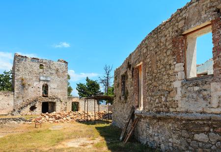 Abandoned Monastery of Saint Theodore, Ilias Village, Albania.