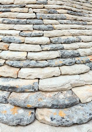 Trulli 집 스토 니 라피 지붕 배경 주요 touristic 지구의 Alberobello에서 아름 다운 오래 된 역사적인 타운, Apulia 지역, 남부 이탈리아
