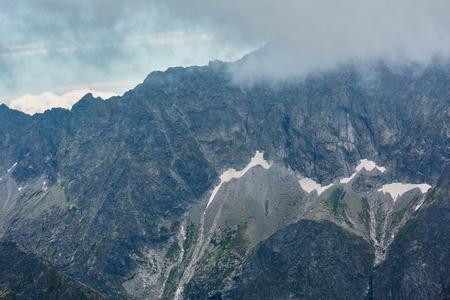 Tatra Mountain view from path Kasprowy Wierch to Swinica mount, Poland.