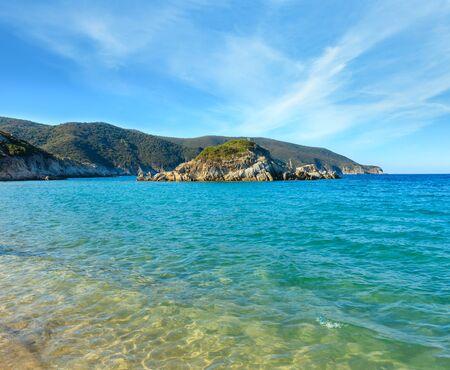 Summer sea coast landscape, Halkidiki, Sithonia, Greece