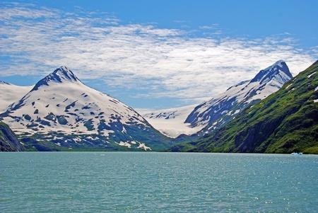 この写真はアンカレッジ、アラスカの近く Portage の氷河 写真素材