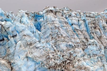 serac: Ice Blocks of the Childs Glacier in Alaska