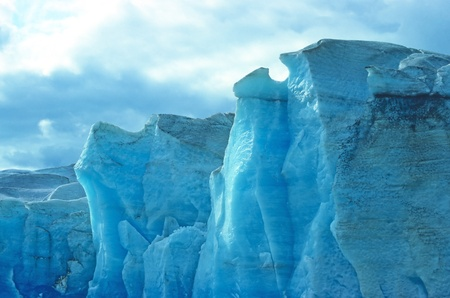 Hielo del glaciar de Mendenhall en Alaska Foto de archivo - 12209832