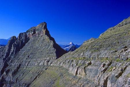stony: Stony Indian Peaks in Glacier National Park