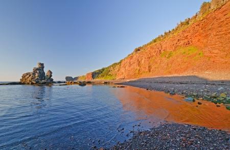 morne: Green Gardens Coast in Gros Morne National Park