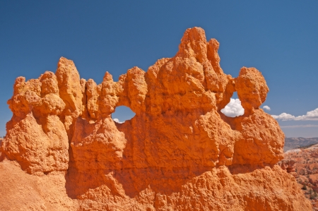 spires: Spires of Bryce Canyon against a Blue Sky