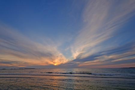 morne: Sunset on Shallow Bay in Gros Morne National Park in Newfoundland