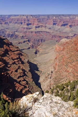 hermits: View of a Grand Canyon near Hermits Rest