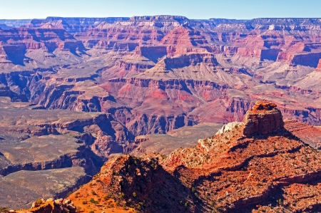 south kaibab trail: Grand Canyon Panorama along the South Kaibab Trail