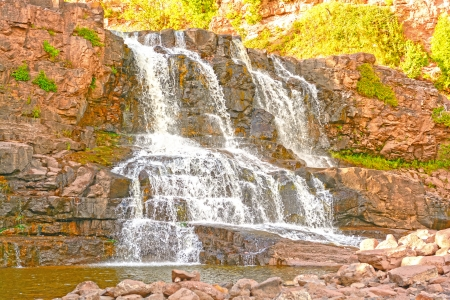 Gooseberry Falls in Northern Minnesota