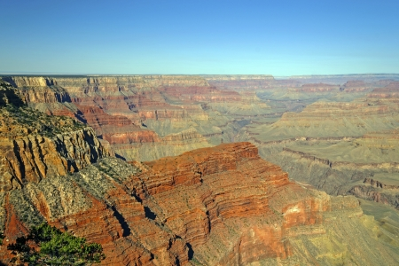 pima: Panoramic View for the Grand Canyon from Pima Point