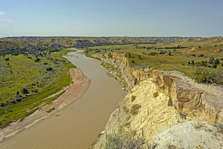The Little Missouri River Theodore Roosevelt National Park photo
