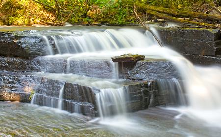 north woods: Joe Creek Falls in Sleeping Giant Provincial Park in Ontario