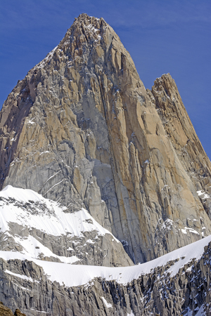 roy: Mount Fitz Roy in the Patagonia Andes of Argentina in Los Glaciares National Park