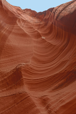slot canyon: Looking up a Slot Canyon Wall in Arizona