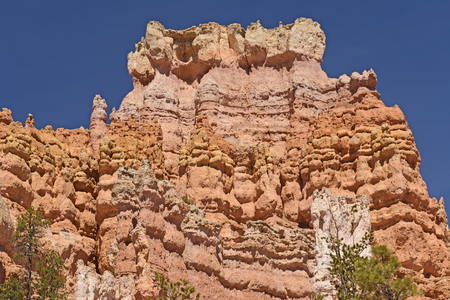 Colorful Crags in the Mountains in Bryce Canyon National Park in Utah