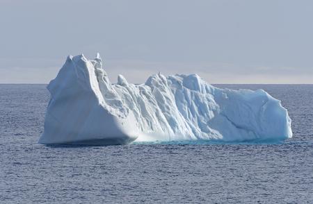 Iceberg in the High Arctic near Baffin Island in Nunavut, Canada