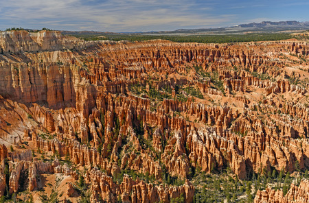 Canyon of Hoodoos at Bryce Point in Bryce Canyon National Park in Utah Stock Photo