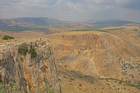 Desert View from Mount Arbel in Israel