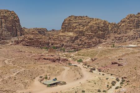 The Main City Site of Petra Imagens