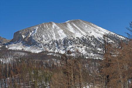 Late Snow in the Mountains near La Veta Pass in Colorado Reklamní fotografie