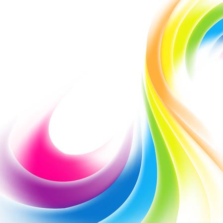 虹の背景 写真素材