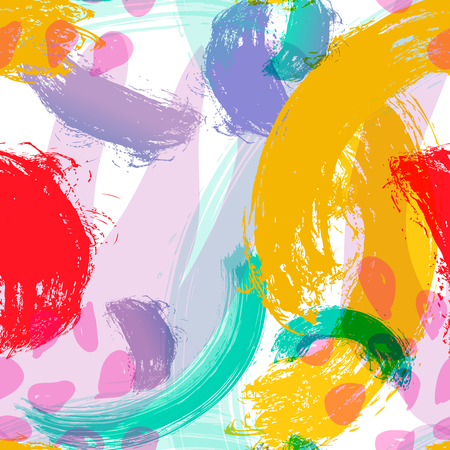 Vector stylized background hand-drawn illustration. Simple shape, bright pattern for fabric.