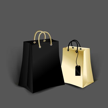 Plantilla de maqueta para diseños de marca y producto. Paquete de papel realista aislado con diseño único. Vectores